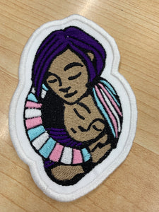 Mama Heart Transgender Patch