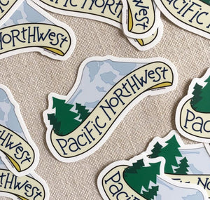 Pacific Northwest Vinyl Sticker