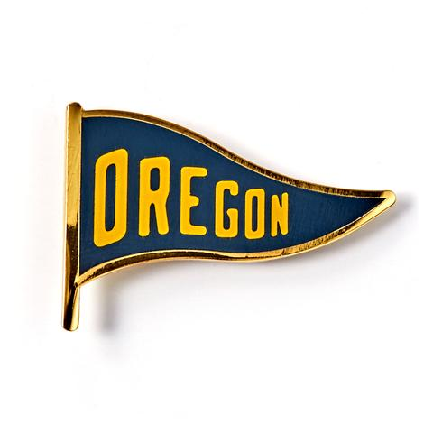 Oregon Flag Pin