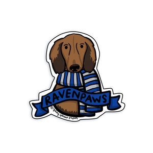 Ravenpaws Harry Potter Ravenclaw Sticker