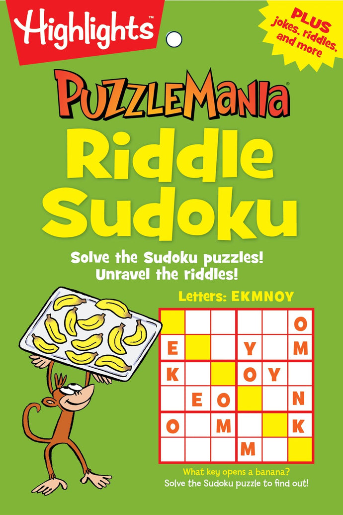 Highlights Puzzle Mania: Riddle Sudoku