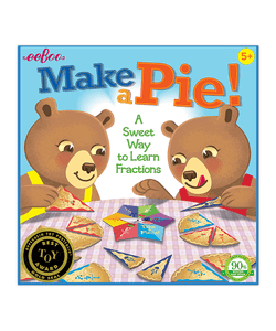 Make A Pie: A Sweet Way to Learn Fractions