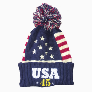 Trump USA 45 Beanie - Greater Half
