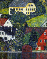 Peinture par Numéro Klimt gustav houses at unterach on the attersee