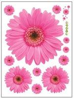Stickers Fleurs Roses - Stickers muraux