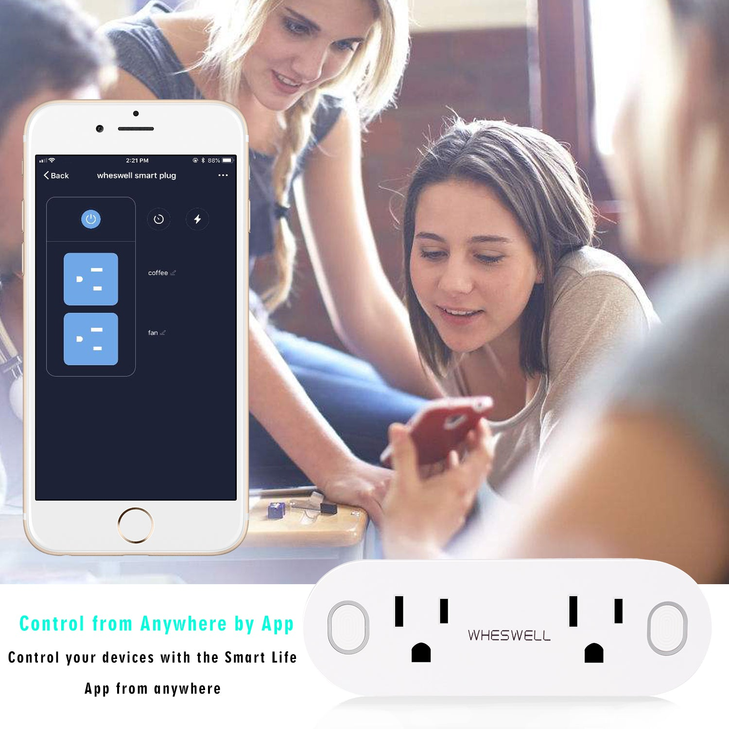 Wheswell Smart Plug 2 Pack – Wheswell Smartech