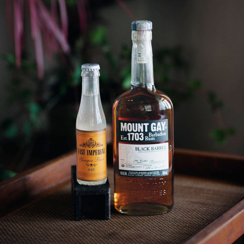 Mt Gay Black Barrel & Mombasa Ginger Beer