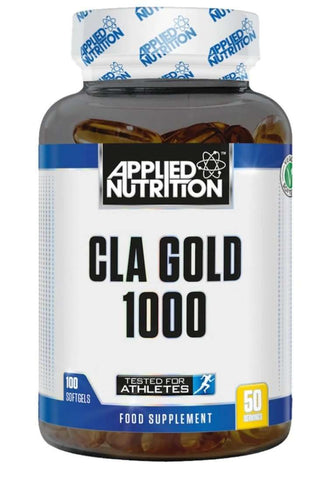 Applied Nutrition CLA Gold 1000mg x 100 Soft Gels,
