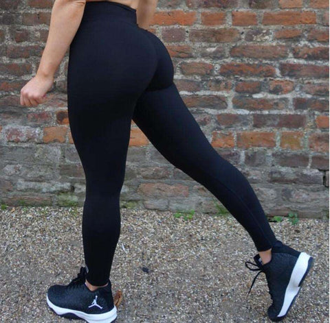 Black Shape Leggings,