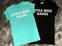 Little Miss Gains T-shirt Mint,