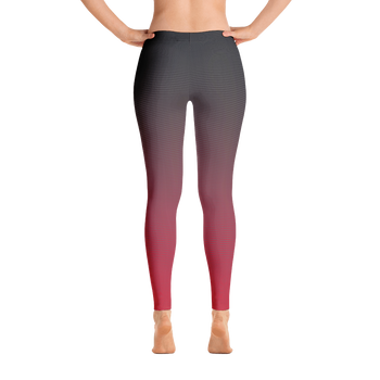 Legging Dégradé Rouge