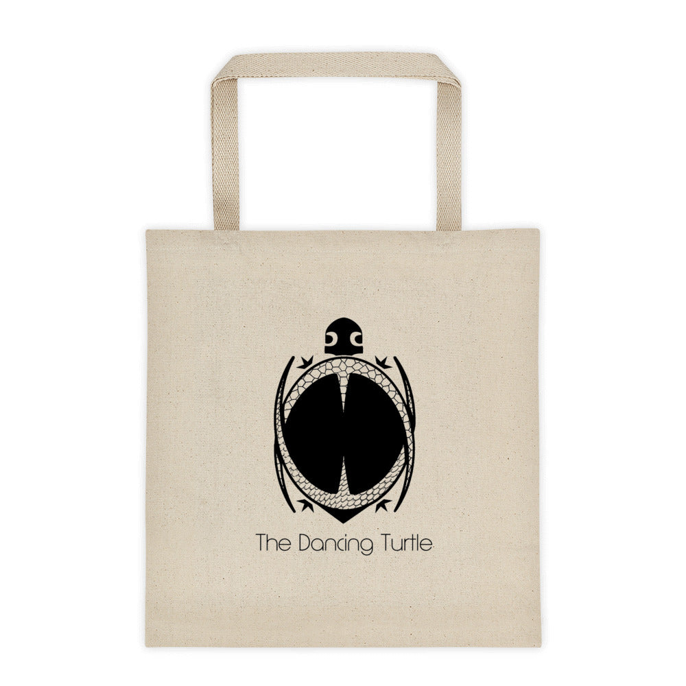 12 Ounce Dancing Turtle Tote Bag