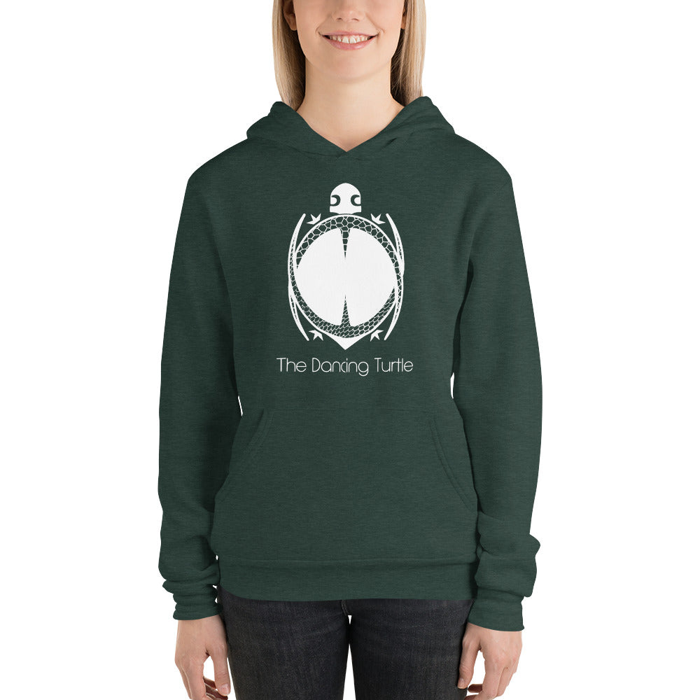 Premium Adult Dancing Turtle Soft Pullover Hoodie - 2 Colors