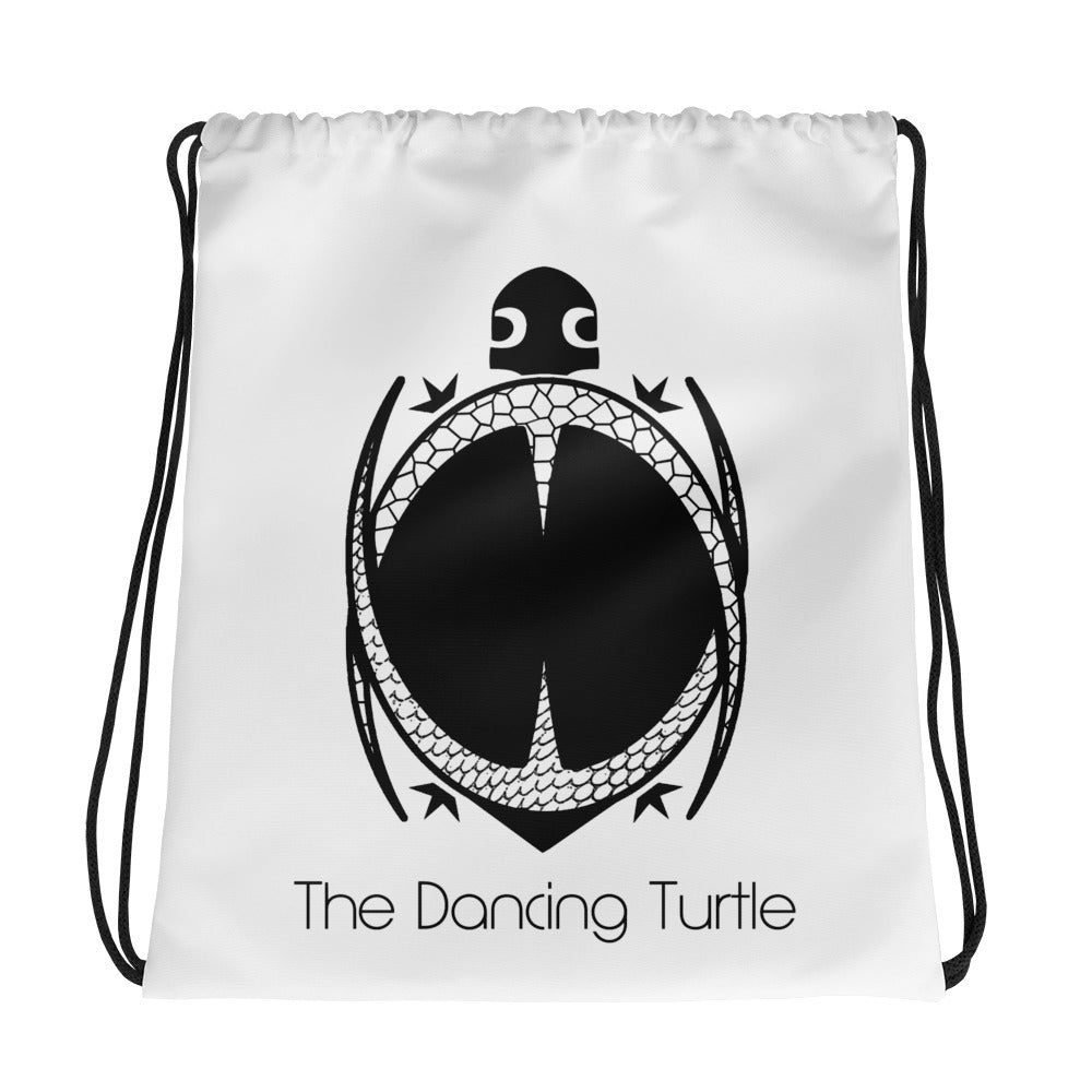 The Dancing Turtle Drawstring Dancer Bag