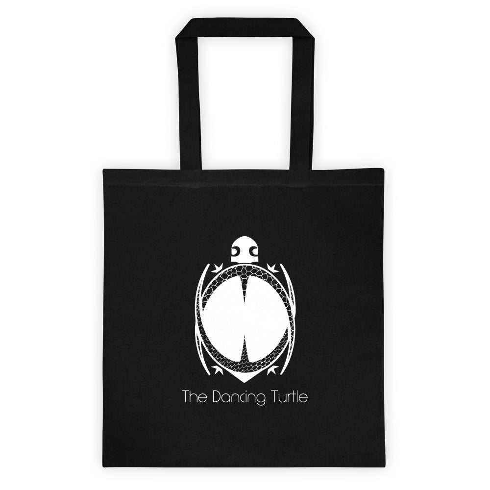 6 Ounce Dancing Turtle Tote Bag - 2 Colors