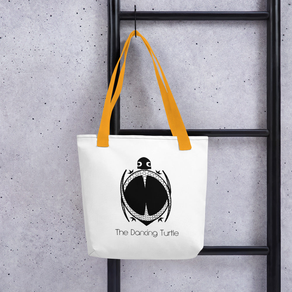 Dancing Turtle Tote Bag - 3 Colors