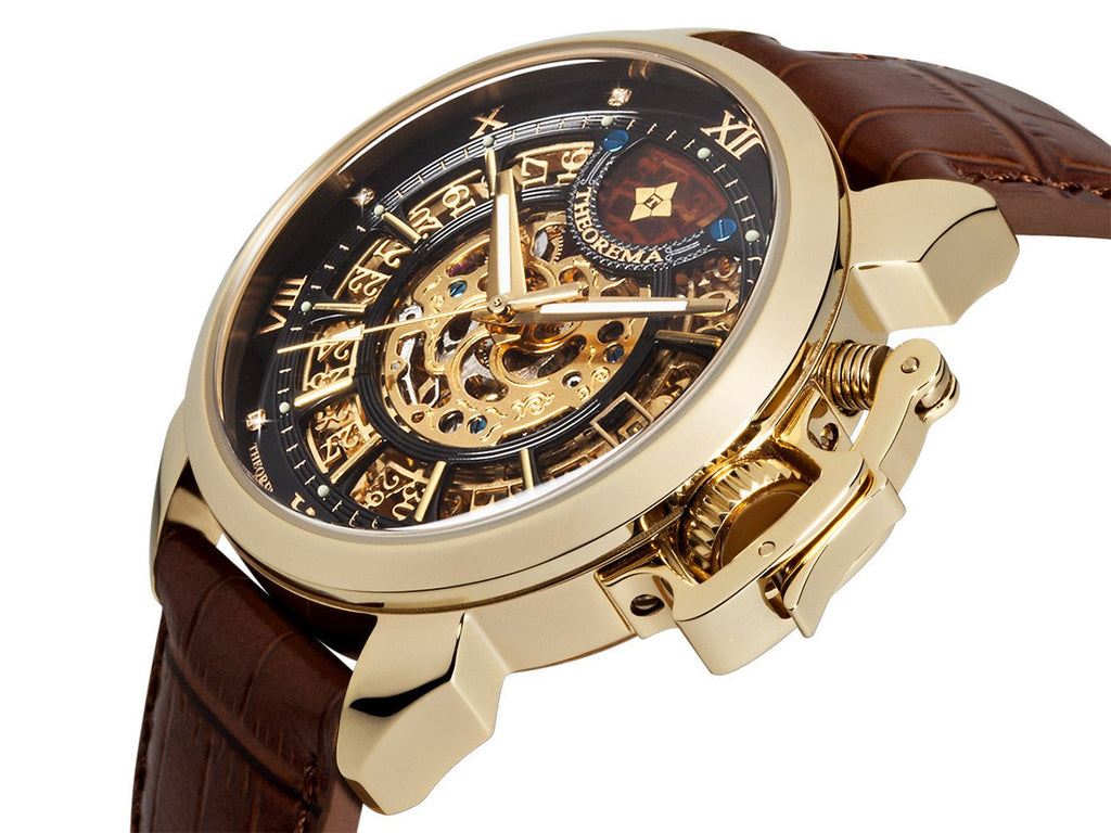Newton Theorema GM4004-3 | GOLD | HANDMADE GERMAN WATCHES