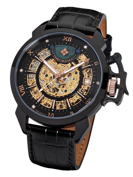 Newton Theorema GM4004-4 | BLACK | HANDMADE GERMAN WATCHES