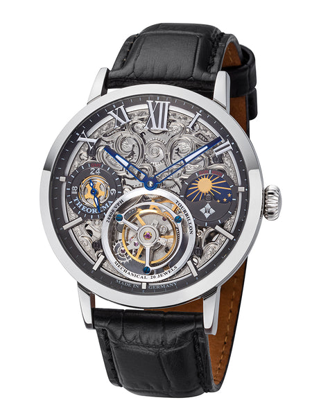 Zürich Tourbillon Theorema - GM-901-1 |Silver| Handmade German Watch