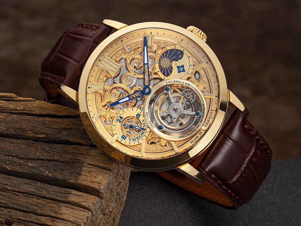 Zürich Tourbillon Theorema - GM-901-2 |Gold| Handmade German Watch