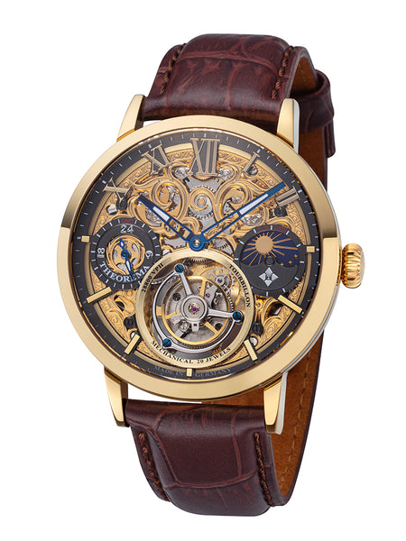 Zürich Tourbillon Theorema - GM-901-3 |Gold| Handmade German Watch