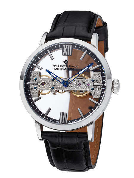 San Francisco Theorema - GM-116-1 |Silver| Handmade German Watch