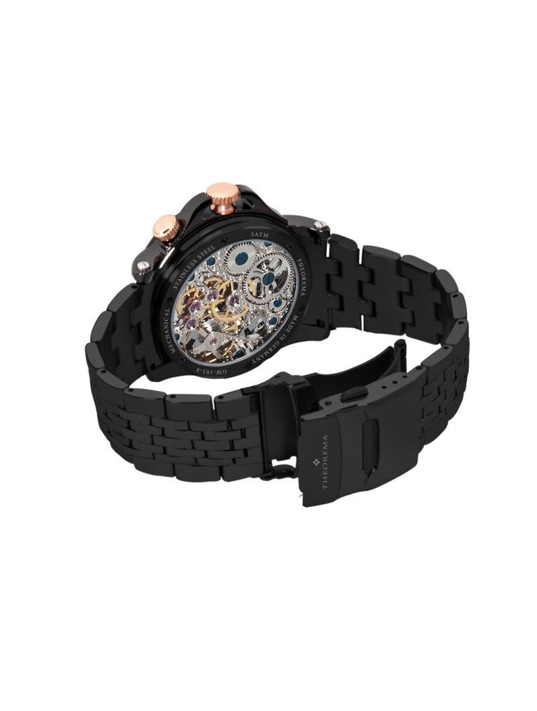 Sao Paulo Theorema GM-103-9 | Black | Handmade German Watches