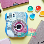 Instax 25 Body Sticker (Pink & Silver)