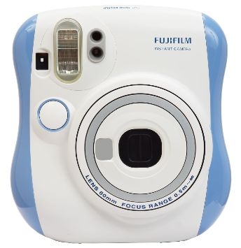 Blue instax mini 25