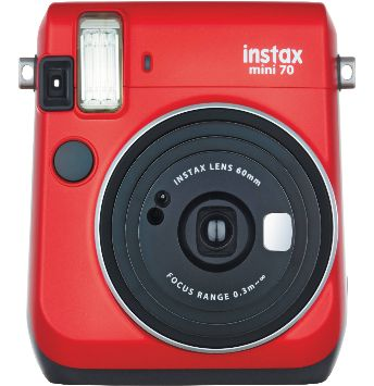 Passion Red instax mini 70