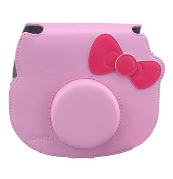 Pink Hello Kitty Instax Leather Bag for Instax 8