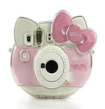 Transparent Crystal Case Instax Hello Kitty