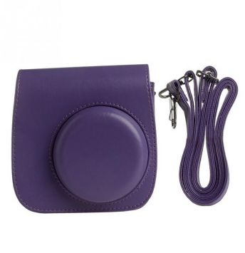 Grape Instax Mini 8/9 Leather Case/Bag (no logo)