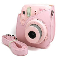 WITH INSTAX LOGO Instax Mini 8/9 Leather Case/Bag