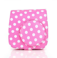 Polkadots  Instax Mini 8/9 Leather Case/Bag