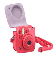 NO INSTAX LOGO Instax Mini 8/9 Leather Case/Bag