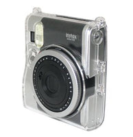 Transparent Crystal Case Instax Mini 90 with strap