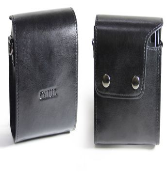 Black Flip Cauil Leather Case/Bag Instax Mini 90