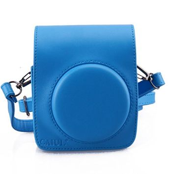 Blue Instax Leather Case/Bag Instax Mini 70