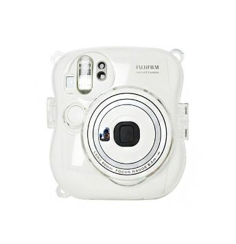 Transparent Crystal Case Instax Mini 25 with strap