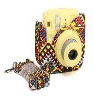 Bohemian Instax Mini 8/8+/9 Leather Case/Bag