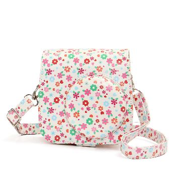 Floral Instax Mini 8/9 Leather Case/Bag