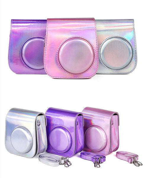 Holographic Instax Mini 11 Leather Case/Bag