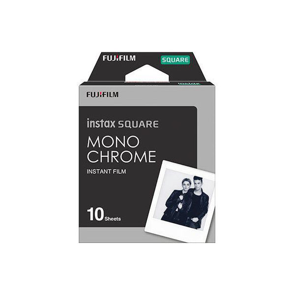 Monochrome instax SQUARE films 10 sheets