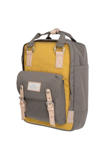 MUSTARD X LIGHT GREY Doughnut Macaroon Backpack