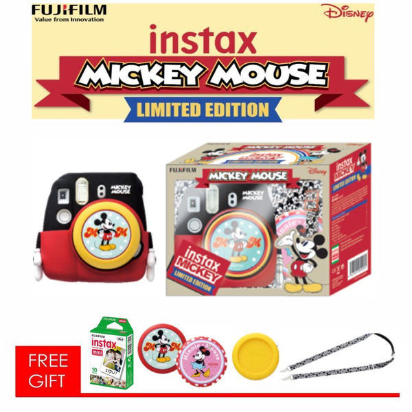 instax mini 9 Mickey Mouse Package Limited Edition