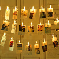 Photo Clip Fairy Lights (2 meters)