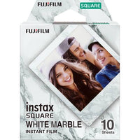 instax SQUARE White Marble films 10 sheets