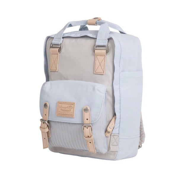 STONE X BLUE LOTUS Stripe Doughnut Macaroon Backpack