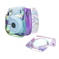 Purple Alva Instax Mini 11 Leather Case/Bag